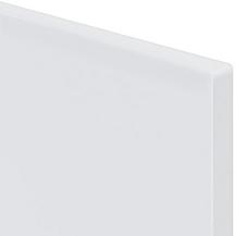 лице МДФ Бяло гланц 18 мм