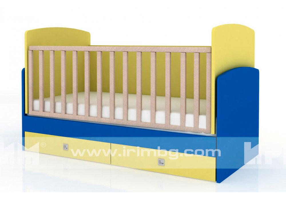 Легло Бам Бам 2 с люлеещ механизъм