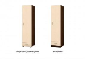 Еднокрилен гардероб с едно чекмедже