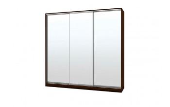 Гардероб с три огледални плъзгащи врати