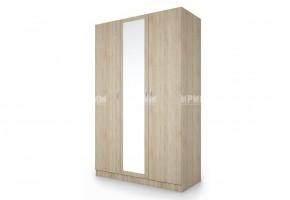 Трикрилен гардероб City 1003 с огледало