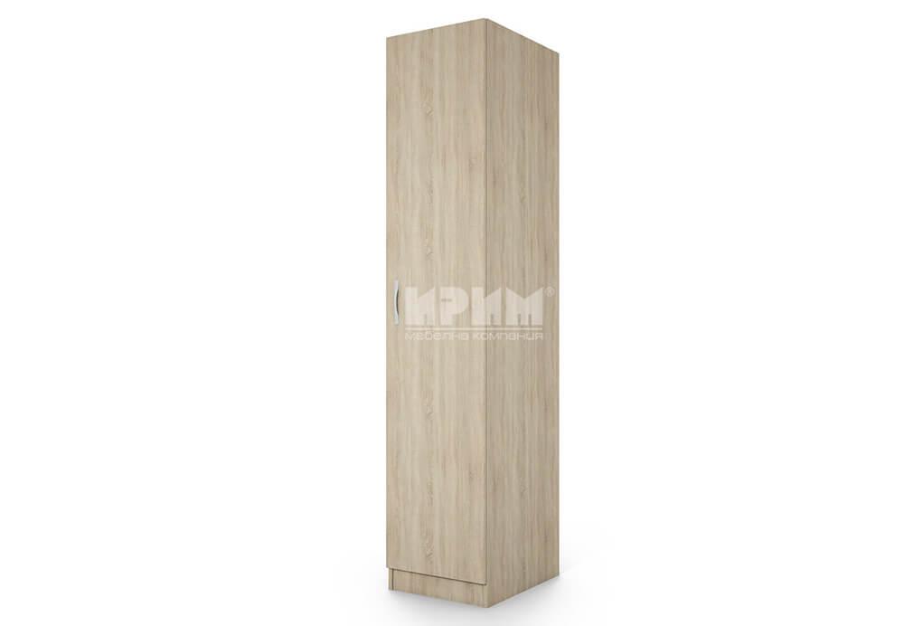 Еднокрилен гардероб City 1010 с 4 бр рафт