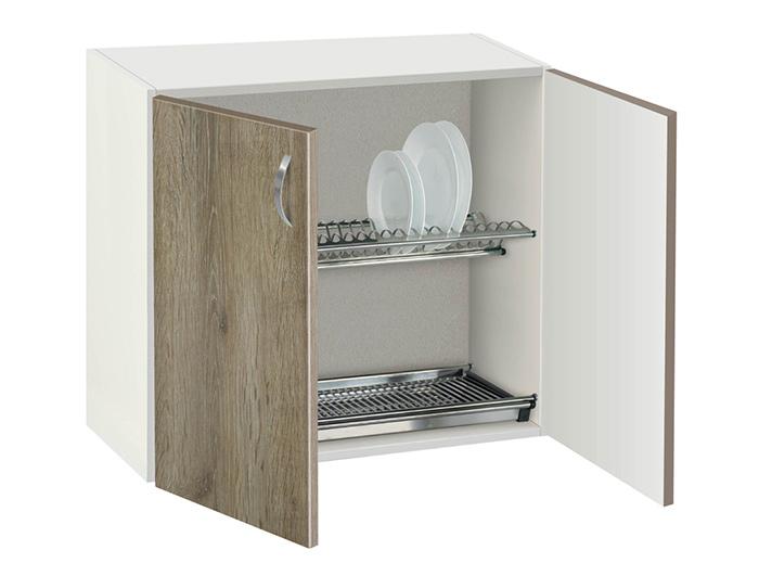 Шкаф с отцедник за чинии и чаши