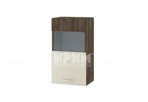 Горен кухненски шкаф една врата с витрина G104