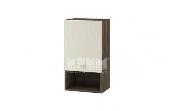 Горен кухненски шкаф с една врата и ниша G105