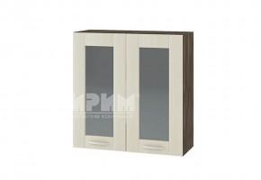 Горен кухненски шкаф с две витрини G109