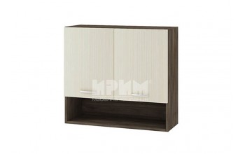 Горен кухненски шкаф с две врати и ниша G112
