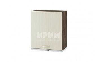 Горен кухненски шкаф за вграден аспиратор с една врата - ляв G114