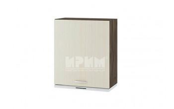 Горен кухненски шкаф за вграден аспиратор с една врата - десен G115