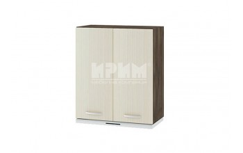 Горен кухненски шкаф за вграден аспиратор с две врати G116