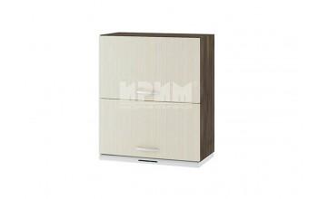Горен кухненски шкаф за вграден аспиратор с две повдигащи врати G119