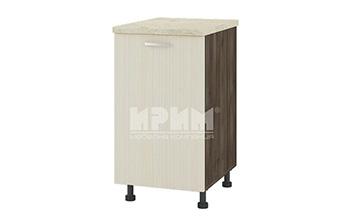 Долен кухненски шкаф за мивка с една врата D302