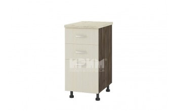 Долен кухненски шкаф с три чекмеджета D309