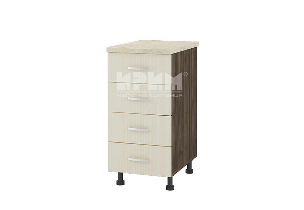 Долен кухненски шкаф с четири чекмеджета D311
