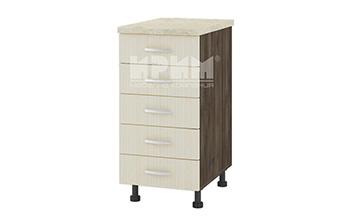 Долен кухненски шкаф с пет чекмеджета D313