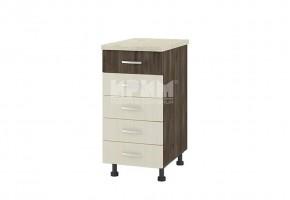 Долен кухненски шкаф с пет чекмеджета D314