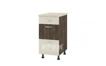 Долен кухненски шкаф с едно плитко и две дълбоки чекмеджета D320