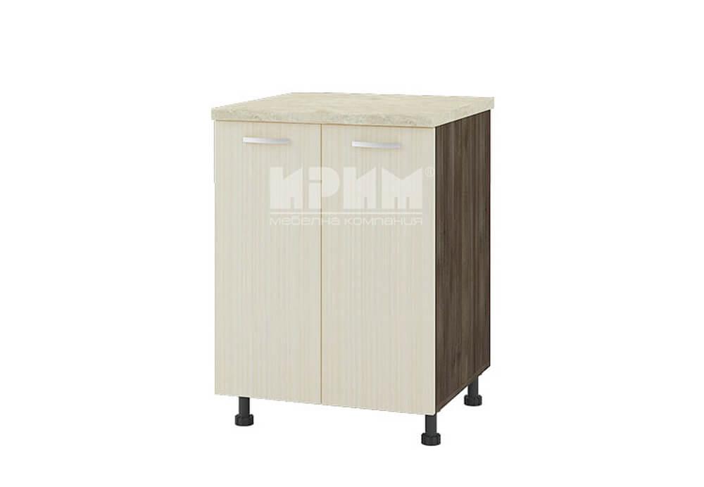 Долен кухненски шкаф с две врати за мивка D322