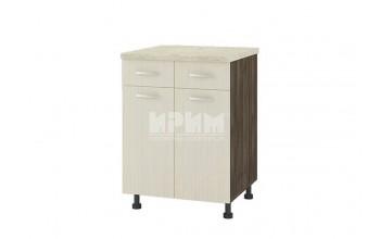 Долен кухненски шкаф с две врати и две чекмеджета D327