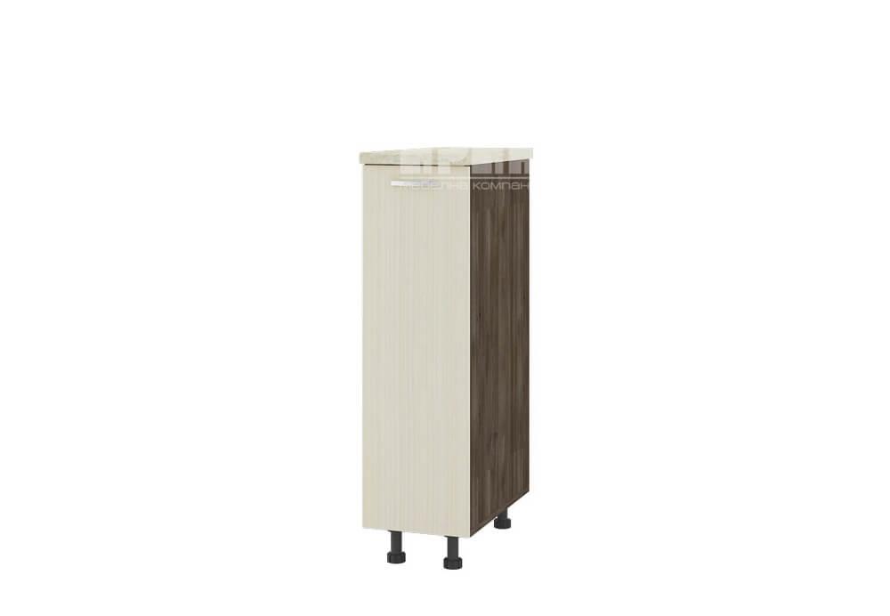 Долен кухненски шкаф с изтеглящ механизъм с три кошници D343