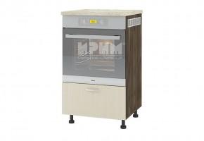 Kухненски шкаф за вграждане на фурна с едно чекмедже - 28 см D349