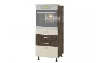 Колонен кухненски шкаф за вграждане на фурна с четири чекмеджета D359