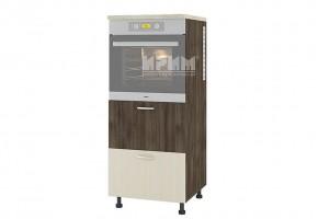 Колонен кухненски шкаф с две чекмеджета за вграждане на фурна D364