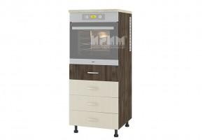 Колонен кухненски шкаф с четири чекмеджета за вграждане на фурна D368