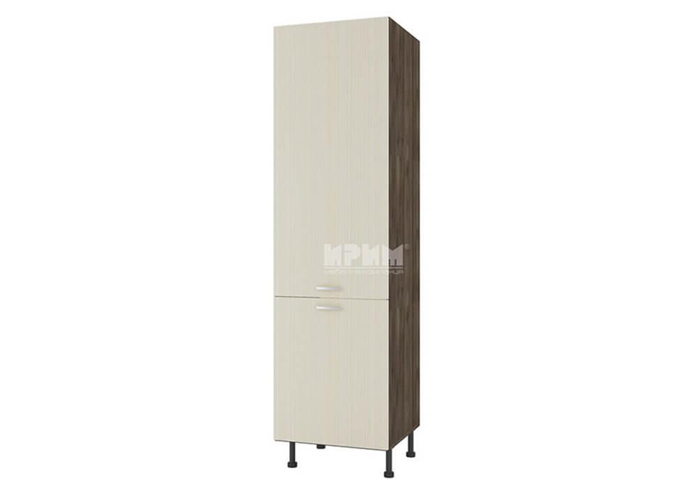 Колонен шкаф с две врати за вграждане на хладилник D375