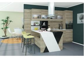 Модулно кухненско обзавеждане Букатини