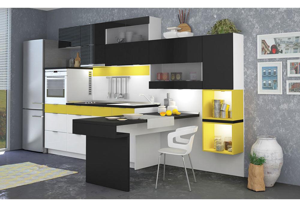Модулно кухненско обзавеждане Лионез