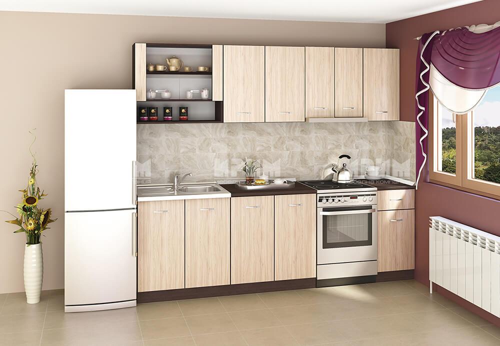 Модулна кухня Сити 455 - 260 см