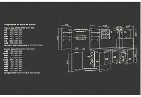 Ъглова модулна кухня Оптима 5