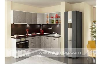 Ъглова модулна кухня Оптима 6