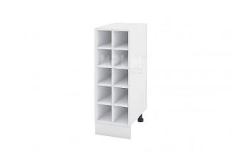 Кухненски шкаф бутилиера за 10 бутилки - 30 см - Б-147