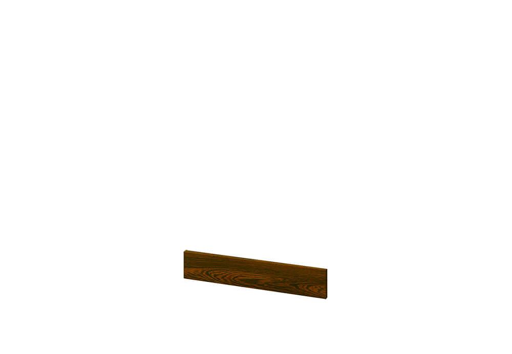 Цокъл за закриване на крачета на кухненски модули - 240 см - В-34