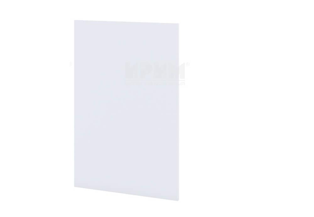 Краен завършващ панел за долен ред шкафове в цвят Бяло гладко - Б-135