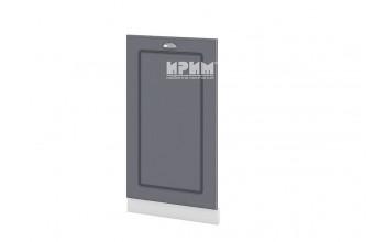 Врата за вградена съдомиялна с ширина 45 см МДФ лице - БФ-Цимент мат-06-38