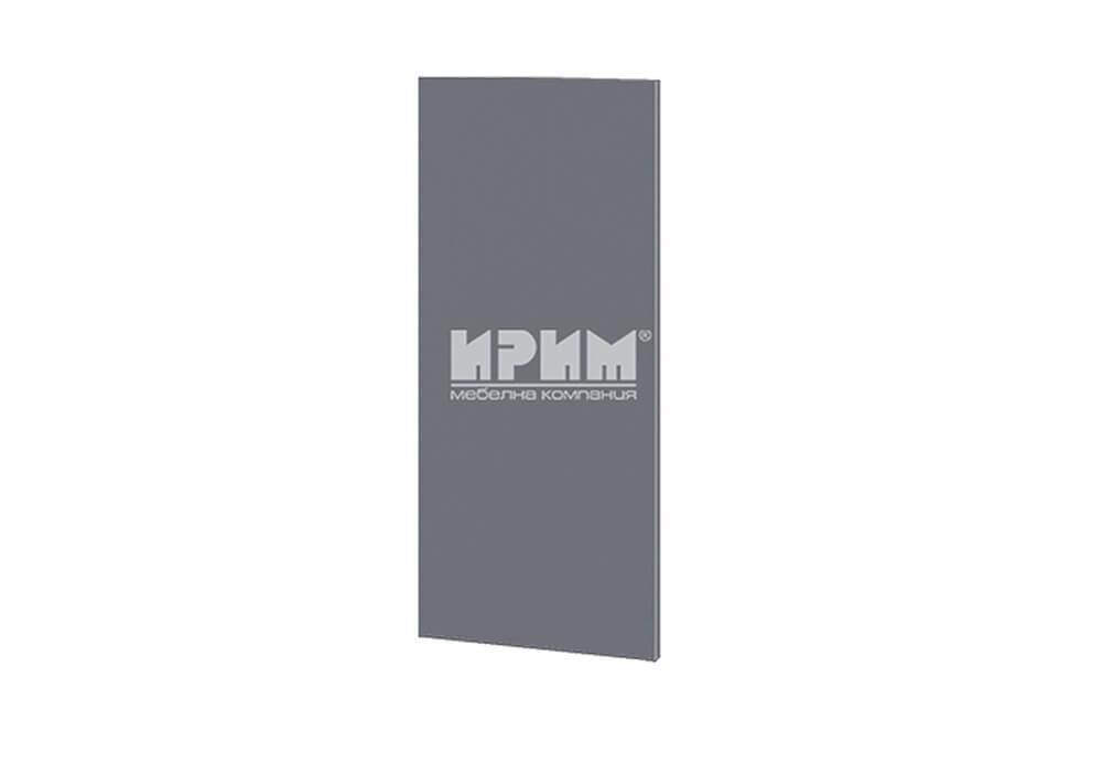 Краен завършващ панел за горен ред шкафове МДФ Цимент мат Ф-06-12-19