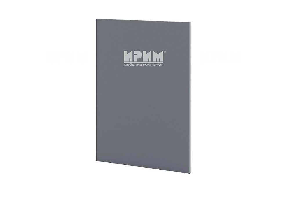 Краен завършващ панел за долен ред шкафове МДФ Цимент мат - Ф-06-12-46