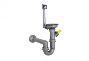 Кръгла мивка 450/450/160 за вграждане