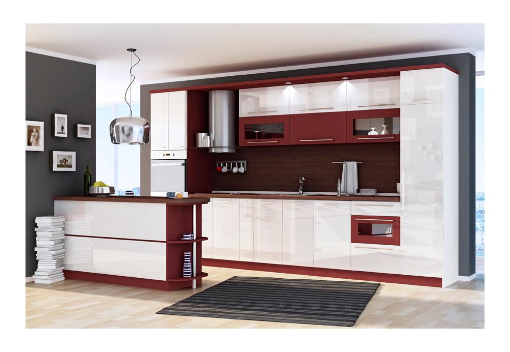 Кухня 9 с барплот