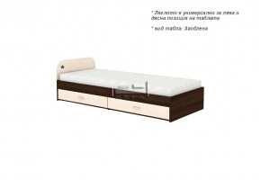 Единично легло + две чекмеджета