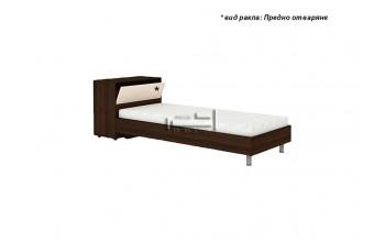 Спалня Ерика с метални крака и ракла