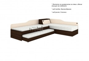 Ъглови легла с пружинен механизъм + легло Невен и ракла + 2 бр матраци