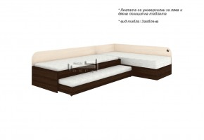 Ъглови легла с пружинен механизъм + легло Невен и 2 бр матраци