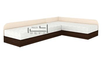 Ъглови легла с пружинни механизми за еднолицеви матраци