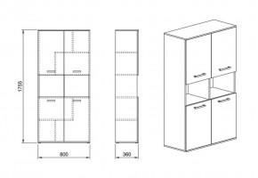 Шкаф 27 от офис система Гранд