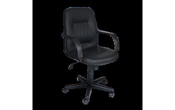 Офис стол Carmen 6075 - черен