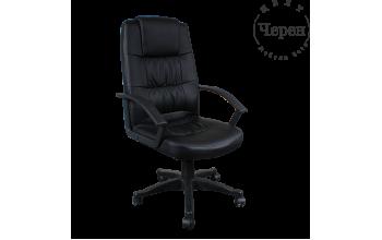 Президентски стол Carmen 6078 - черен